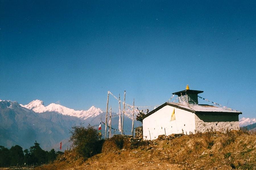 Langtang, Nepal before the earthquake.