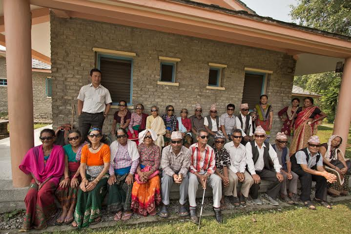 Nepal medical camp gift of sight