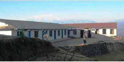 kharpani school OWOH helped build in Nepal