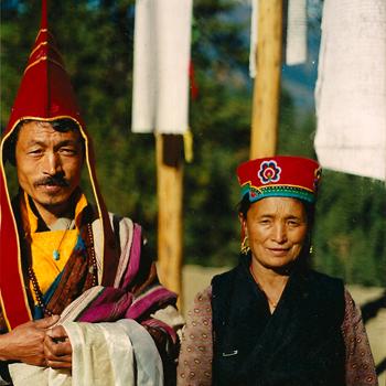Lama Babu and wife Lakpani-